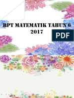 Rpt Matematik Tahun 6 2017