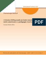 Artigo Luciano Simoes Pedagogia Vocal Belting