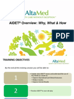 AIDET Training Presentation1