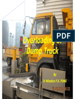 PPT - Overloading of Dump Truck (Jun 2011) (English)