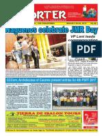 Bikol Reporter August 20 - 26, 2017 Issue