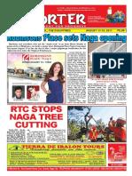 Bikol Reporter August 13 - 19, 2017 Issue