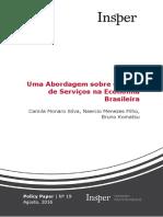 Abordagem Sobre Setor Serviços Economia Brasileira