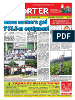 Bikol Reporter September 24 - 30, 2017 Issue