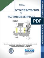 2-Movimiento de Rotacion y Factor de Servicio