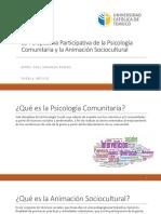 La Perspectiva participativa de la Psic. Com. y la ASC.pptx