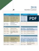 2018 Training Calendar.pdf