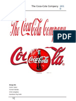 Organizational Structure of The Coca-Cola Company