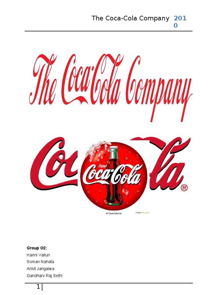 market structure for the coca cola company When you hold a global market position like the coca-cola company (nyse:ko), with products in over 200 countries, it's imperative to learn to think small if you want to remain competitive in the.