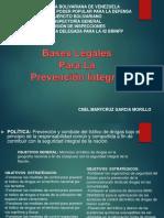 Bases Legales para la Prevención Integral.