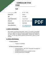 Currículum y.s.c