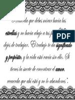 Presentaciones frase