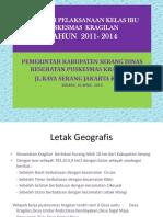 Evaluasi Kegiatan Kelas Ibu 2014