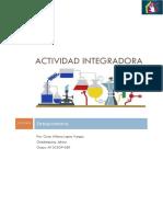 actividad integradora Estequiometria.