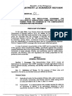 2004 AO 1 2004 Rules and Regulation Governing the Exclusion of Agricultural Lands Used for Cattle Raising From the Coverage of the CARP