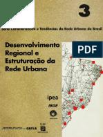 Desenvolvimento Estruturação da Rede Urbana
