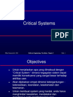 2. Critical Systems