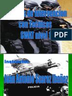 Tacticas de Intervencion Con Tecnicas Swat Nivel 1