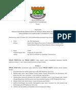 Perjanjian Kerja Tenaga Satuan Pengamanan Dan Keamanan
