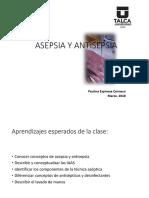 1.Clase Asepsia Antisepsia