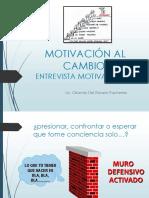 3- Entrevista motivacional
