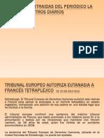Eutanasia Aborto Noticias Para Reflexionar