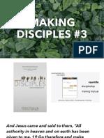 Making Disciples 3