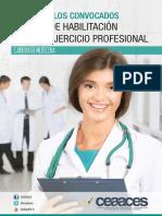 Temario de Prueba Del Ceaaces ECUADOR MEDICINA