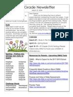 3-22-18 newsletter