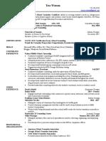 tess watson- resume