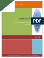 web notes