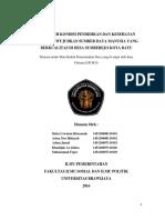Desa Sumberejo, Pendidikan & Kesehatan