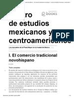 El Comercio Tradicional Novohispano