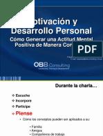 Conferencia Motivacion y Desarrollo Personal 29 Nov 2012