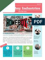 homeboy newsletter