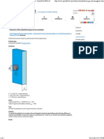 Attraction of the Cylindrical Magnet to the Steel Plate --QuickField FEA Software