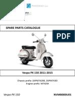 Vespa » Vespa Px 150 » Vespa Px 150 2011-2015
