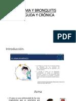 Bronquitis Aguda y Cronica