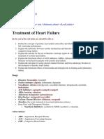Heart Failre Notes