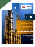 KLM Control Valve Program Overview