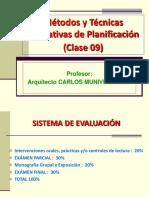 Métodos y Técnicas de Planif._clase 09