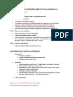 Clase 02 Del Taller de Redaccion de Articulos Academicos