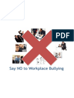 Workplace Bullying Poster