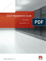 AC & Fit AP Quick Maintenance Guide