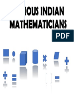 Famous Indian Mathematicians_Project
