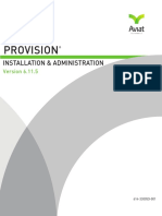 Installation and 5ProVision Administration Manual 6.11.