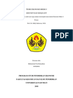 Teori Ekonomi Makro I ISOCOST & ISOQUANT(M Tiar Ramadhan - 165020081)