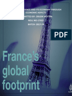 France and Its Economy Through Gdp