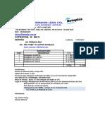 Cotización de Biodigestores