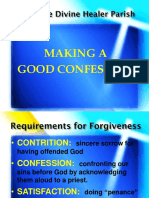 JDHP Confession Guidelines